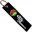 ALFA ROMEO Patch Embroidered Car Keyring