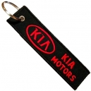 KIA MOTORS Patch Embroidered Car Keyring