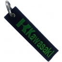 KAWASAKI Green Logo Patch Embroidered Μotorbike Keyring