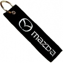 MAZDA Patch Embroidered Car Keyring