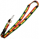 BOB MARLEY Freedom Theme Neck Lanyard