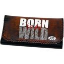 BORN TO BE WILD Motto Theme Tobacco Pouch