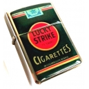 LUCKY STRIKE Vintage Packet Dark Green Lighter