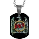 SLAYER Eagle Logo Mini Tag Λαιμού