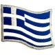 GREECE Flag Σιδερότυπο / Ραφτό Σήμα