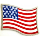 USA Flag Σιδερότυπο / Ραφτό Σήμα