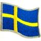 SWEDEN Flag Σιδερότυπο / Ραφτό Σήμα