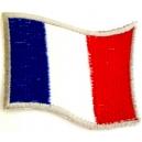 FRANCE Flag Σιδερότυπο / Ραφτό Σήμα