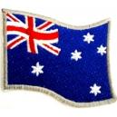 AUSTRALIA Flag Σιδερότυπο / Ραφτό Σήμα