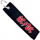 AC/DC Logo Ραφτό Μπρελόκ Μοτοσυκλέτας