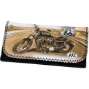 ROUTE US 66 Bike Theme Tobacco Pouch