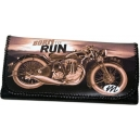 BORN TO RUN USA Bike Theme Tobacco Pouch