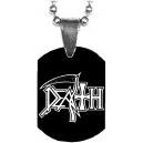 DEATH Logo Mini Tag Λαιμού