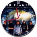 IN FLAMES Ρολόι Τοίχου