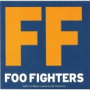 FOO FIGHTERS Big F Αυτοκόλλητο Βινυλίου