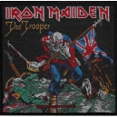 IRON MAIDEN The Trooper Ραφτό Σήμα