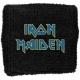 IRON MAIDEN Blue Logo Περικάρπιο Πετσετέ
