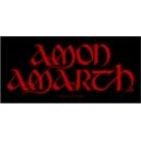 AMON AMARTH Red Logo Ραφτό Σήμα