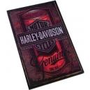 HARLEY DAVIDSON Tin Can Ξύλινο Μαγνητάκι Ψυγείου