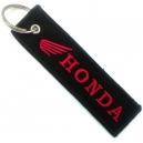 HONDA Red Logo Patch Ραφτό Μπρελόκ Μοτοσυκλέτας
