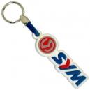 SYM Red Blue Logo 3D Rubber Μπρελόκ Μοτοσυκλέτας
