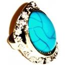 BLUE CRACKED PEARL Δαχτυλίδι