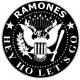 RAMONES Seal Hey Ho Let's Go Μπρελόκ Διπλής Όψης