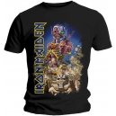 IRON MAIDEN Somewhere Back In Time Official T-Shirt