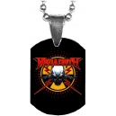 MEGADETH Skull Logo Mini Tag Λαιμού