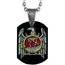 SLAYER Eagle Logo Mini Tag Λαιμού