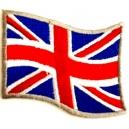 UNITED KINGDOM Flag Σιδερότυπο / Ραφτό Σήμα