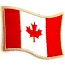 CANADA Flag Σιδερότυπο / Ραφτό Σήμα