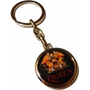 QUEEN Crest Double Sided Keyring