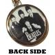 THE BEATLES Logo & Band Μπρελόκ Διπλής Όψης