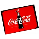 COCA COLA Bottle Red Theme Ξύλινο Μαγνητάκι Ψυγείου